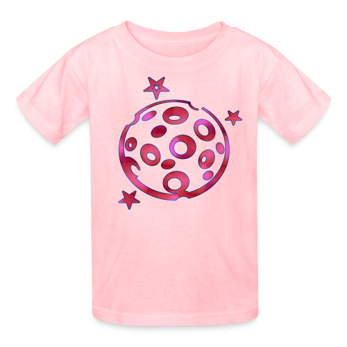Cheesey Pink Moon - Kids' T-Shirt
