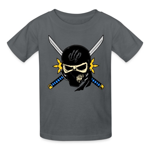 dtp ninja clear png - Kids' T-Shirt