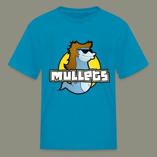 mullets logo - Kids' T-Shirt