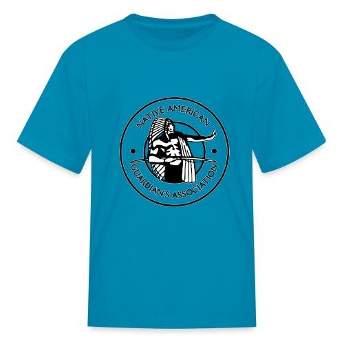 Naga LOGO Outlined - Kids' T-Shirt