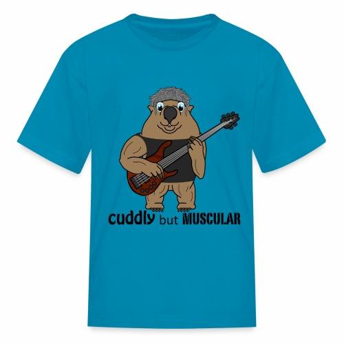 wombatblack - Kids' T-Shirt