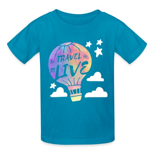 To Travel Is To Live - Kids' T-Shirt