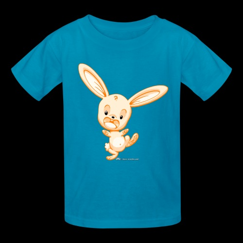 Orange Bunny - Kids' T-Shirt