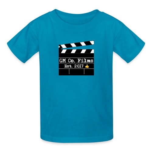G M co Films logo + Subscribe combo - Kids' T-Shirt