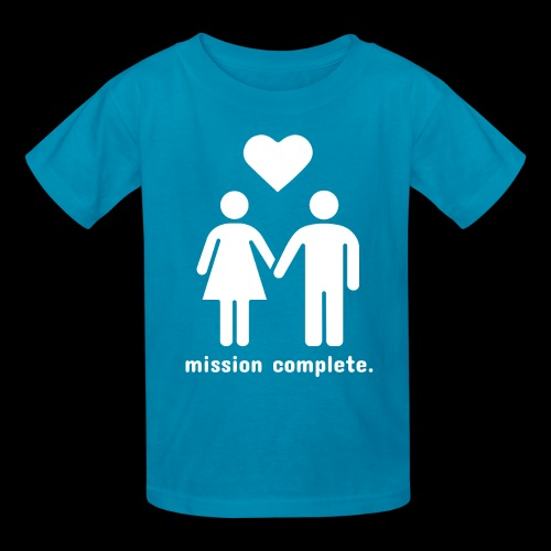 Mission Complete | In Love - Kids' T-Shirt