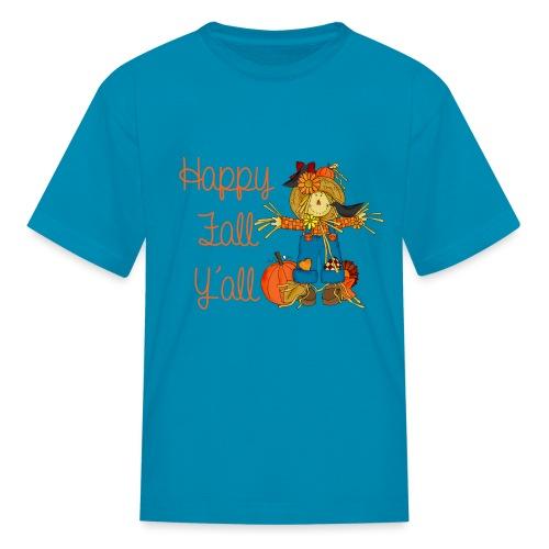 happy fall yall - Kids' T-Shirt