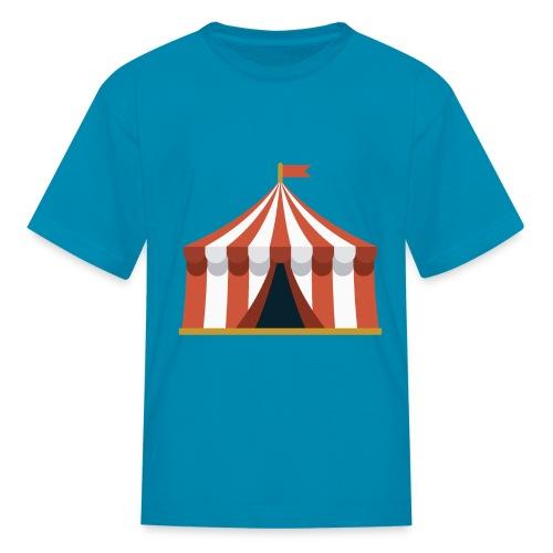Striped Circus Tent - Kids' T-Shirt