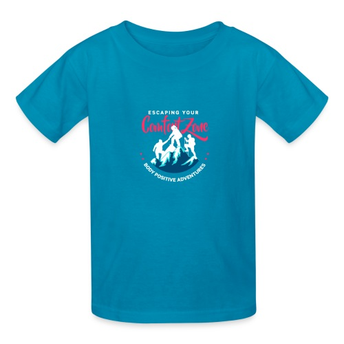 Escaping Your Comfort Zone Logo - Kids' T-Shirt