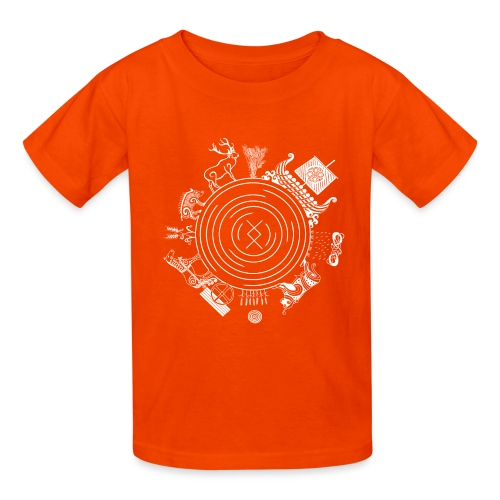 Freyr - God of the World - Kids' T-Shirt