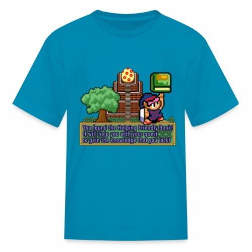 Helping Friendly Book of Mudora - Kids' T-Shirt
