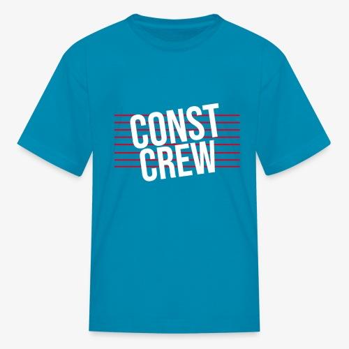 Const Crew - Kids' T-Shirt