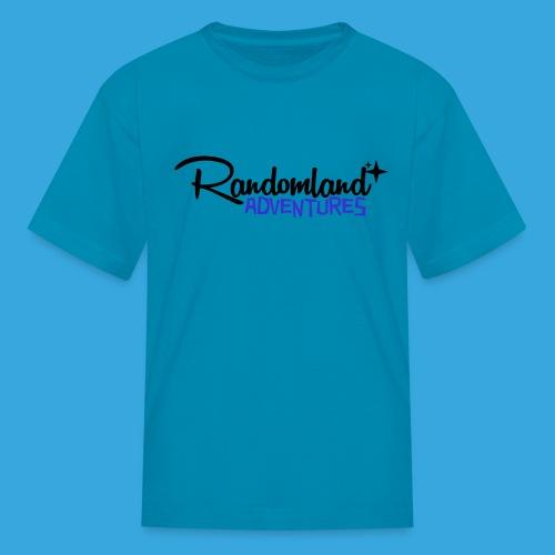 Randomland Adv Black - Kids' T-Shirt
