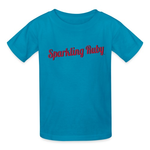 Sparkling Ruby - Kids' T-Shirt
