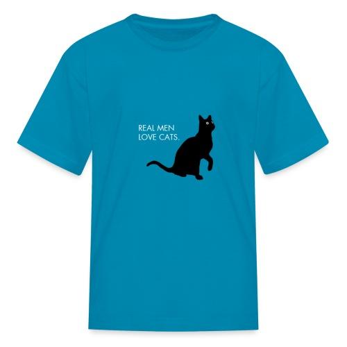 Real Men... - Kids' T-Shirt