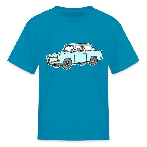 Trabant (lightblue) - Kids' T-Shirt