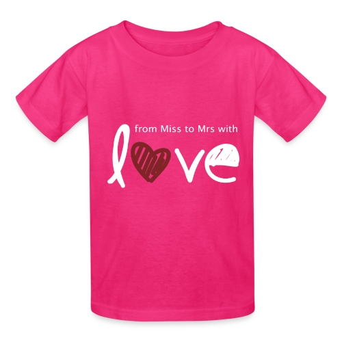 From Miss To Mrs - Kids' T-Shirt