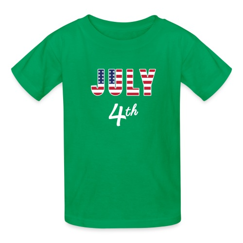 July 4th - Kids' T-Shirt