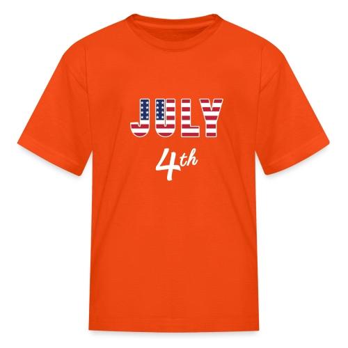 July 4th - Kids' T-Shirt