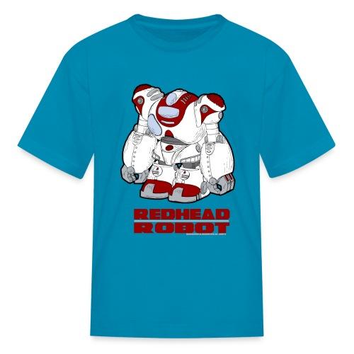 Redhead Robot - Kids' T-Shirt