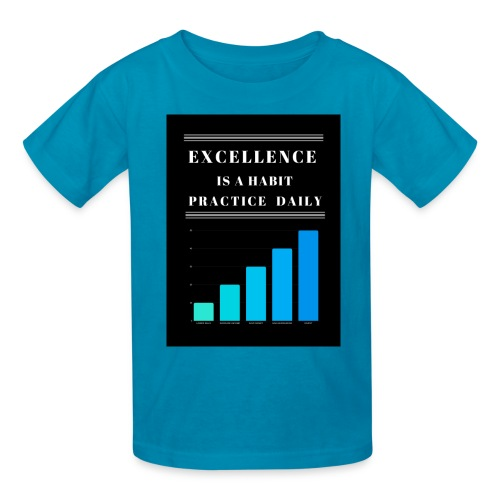 EXCELLENCE IS A HABIT - Kids' T-Shirt