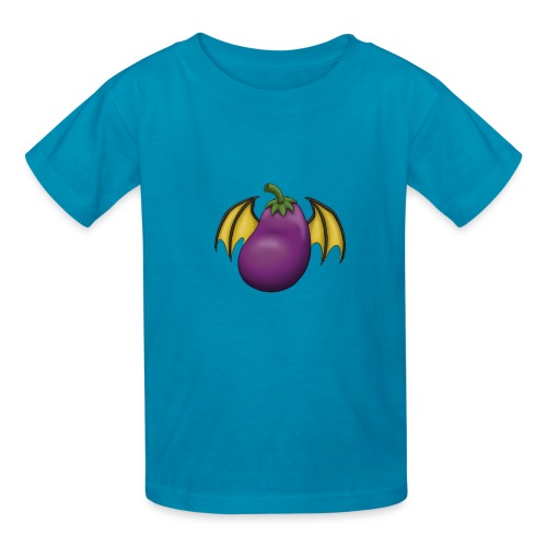 Eggplant Logo - Kids' T-Shirt