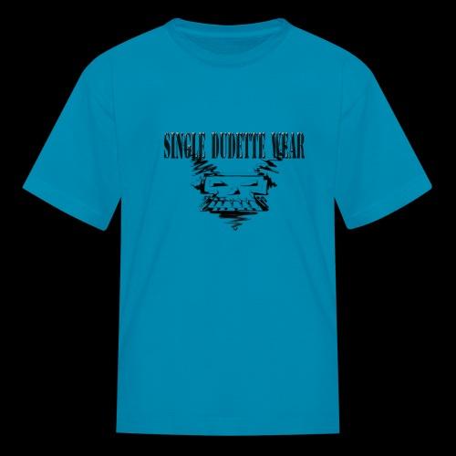 SDW Skull Big Dudette - Kids' T-Shirt