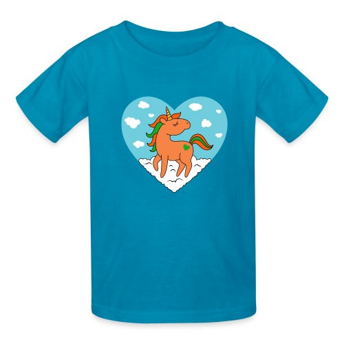 Unicorn Love - Kids' T-Shirt