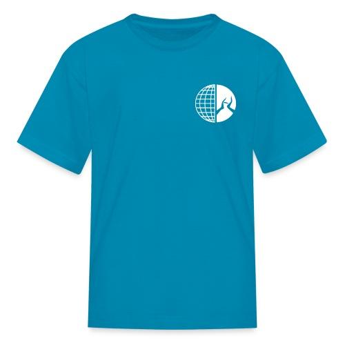DMI Logo White - Kids' T-Shirt