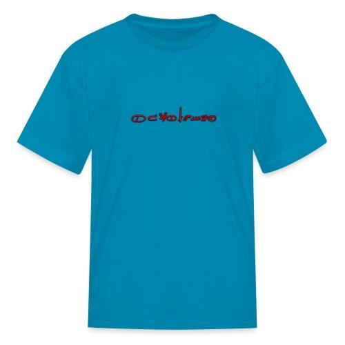 Sign1News in written ASL (Exclusive Design) - Kids' T-Shirt