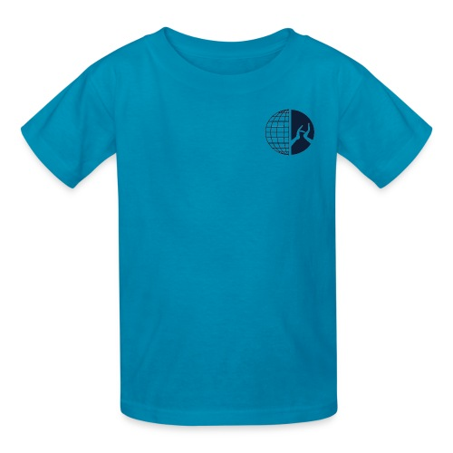 DMI Logo Dark Blue - Kids' T-Shirt