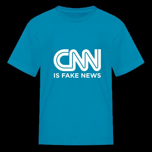 CNN Is Fake News - Kids' T-Shirt