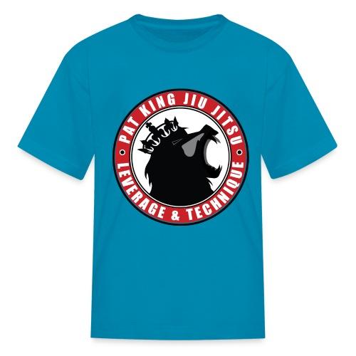 PK Merch grey22 - Kids' T-Shirt