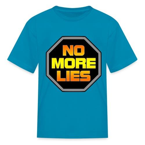 stopp no more lies - Kids' T-Shirt