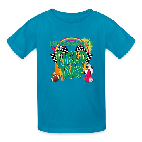 Field Day Games for SCHOOL - Kids' T-Shirt