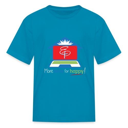EZPZ Logo Tagline - Kids' T-Shirt