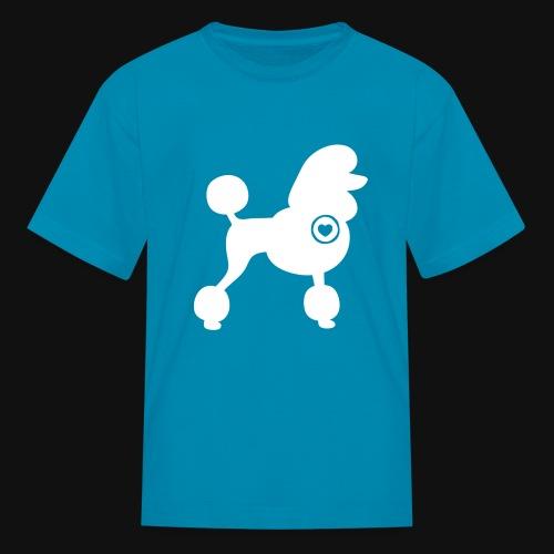 Poodle love - Kids' T-Shirt