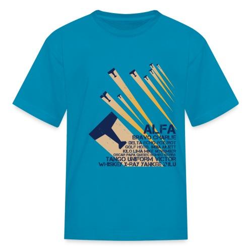 International Phonetic Alphabet - Kids' T-Shirt