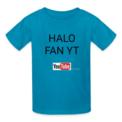 Halo fan and fnaf YouTube channel merch - Kids' T-Shirt