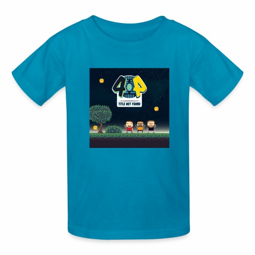 Logo and avatars - Kids' T-Shirt