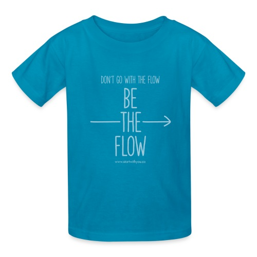 Be The Flow - Kids' T-Shirt