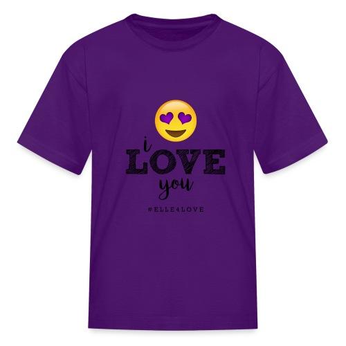I LOVE you - Kids' T-Shirt