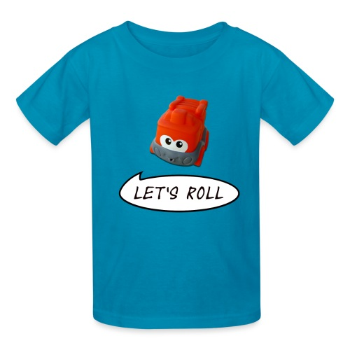 Cute Toy Truck - Let's Roll - Kids' T-Shirt