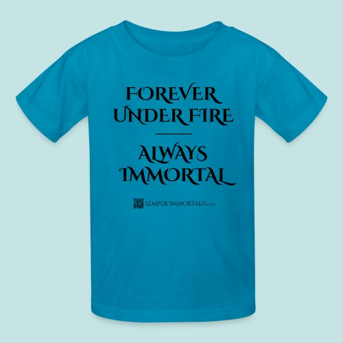 Always Immortal (black) - Kids' T-Shirt