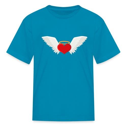 Winged heart - Angel wings - Guardian Angel - Kids' T-Shirt
