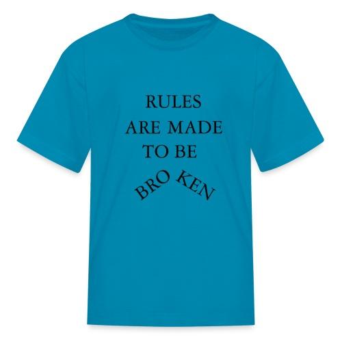 rules - Kids' T-Shirt
