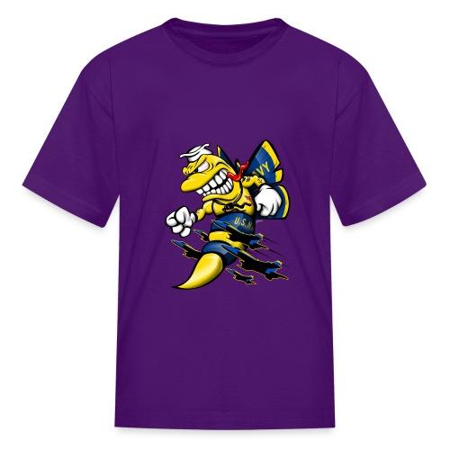 Cartoon Blue Angels F/A-18 Hornet - Kids' T-Shirt