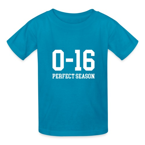 Detroit Lions 0 16 Perfect Season - Kids' T-Shirt