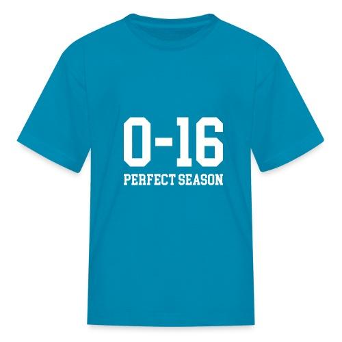 Detroit Lions 0 16 Perfect Season - Kids' T-Shirt