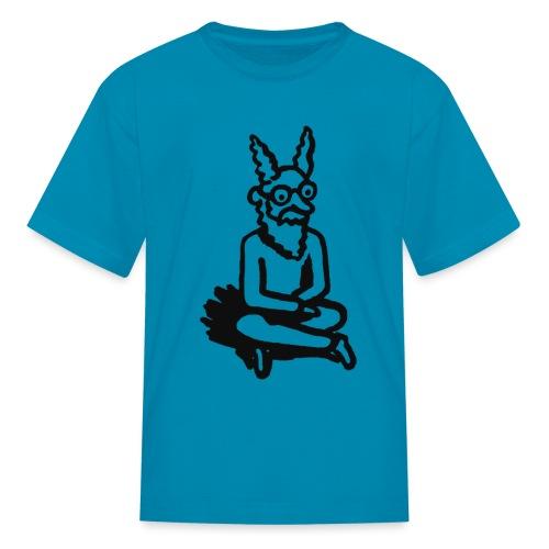 sloanNimbusShirtBWkids1 png - Kids' T-Shirt