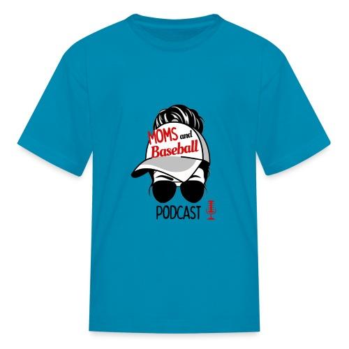 Moms and Baseball - Kids' T-Shirt